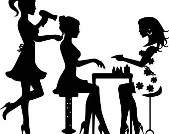 Silhouette Beauty Salon At Getdrawings Com Free For