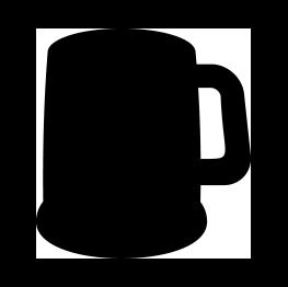 263x262 Free Svg Beer Mug Silhouette Cricut Silhouettes