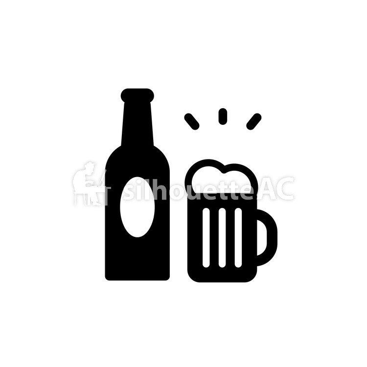 750x750 Free Silhouettes Sake, Icon, Alcohol