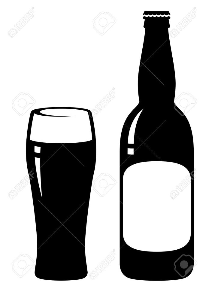 736x952 7 Best Silhueta Images On Silhouette, Beer Bottles