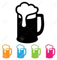 236x248 Beer Mug Silhouette Beer Glass Vector Black Free Stuff