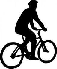190x227 Stickman Bike Rider Clip Art Download 452 Clip Arts