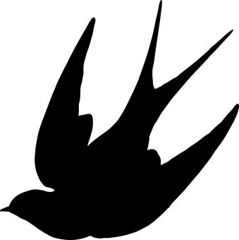 Silhouette Bird Flying