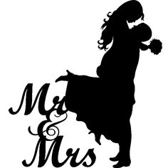 236x236 Silhouette Newlyweds Vector Vector Graphics Amp Vector