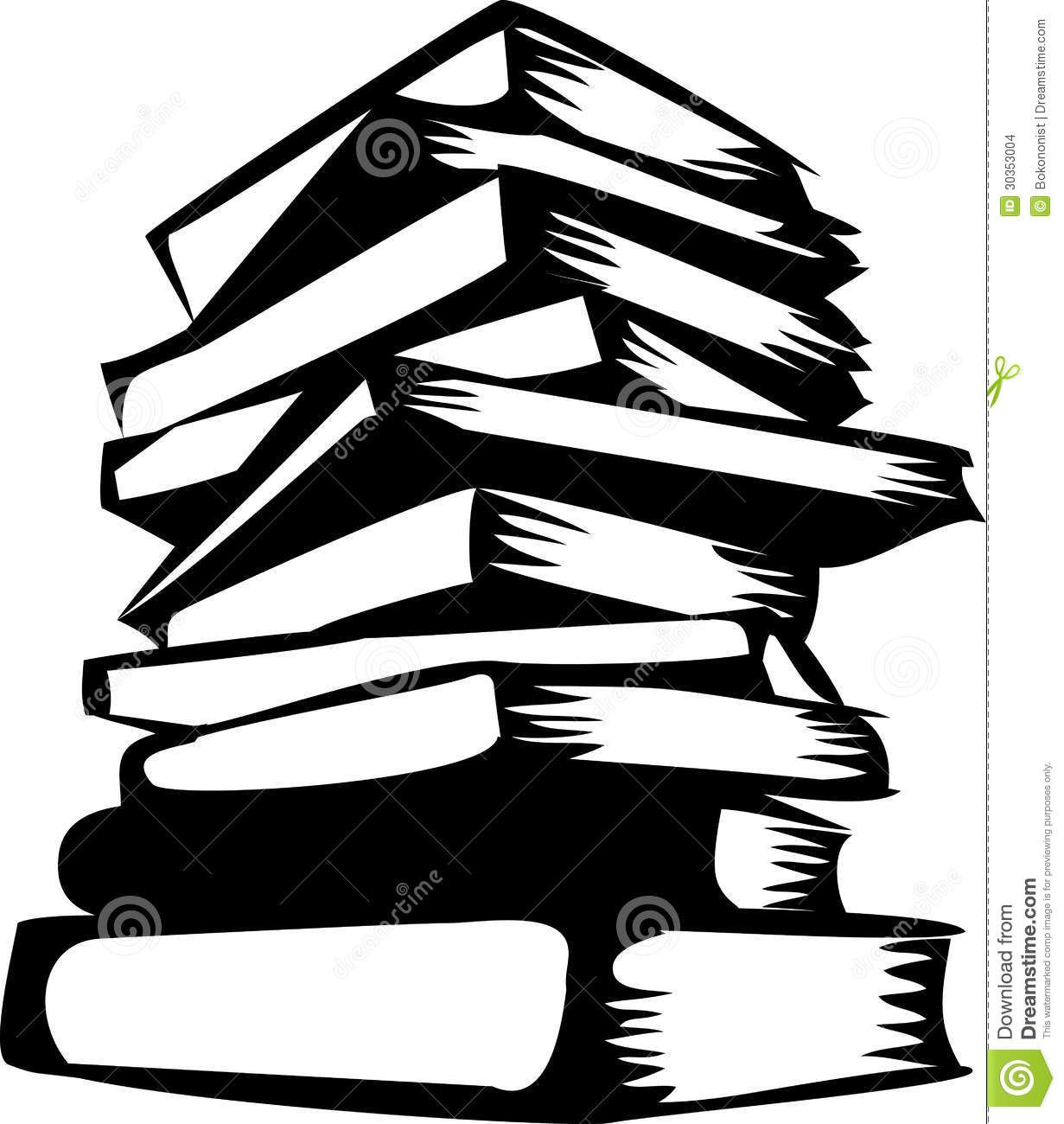 1231x1300 Stacked Books Silhouette Use These Free Images For Your Websites