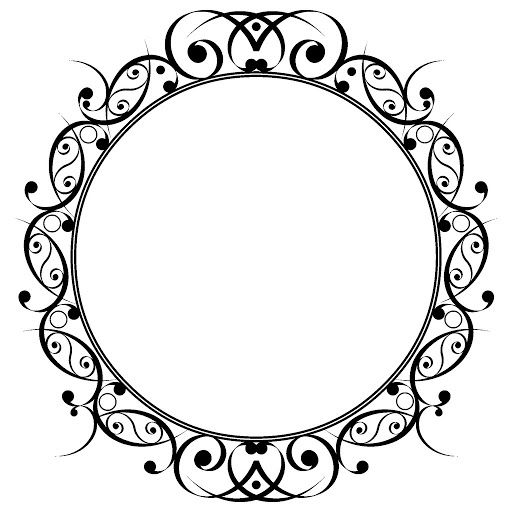 512x512 Monogram Border Designs Border Deco Designer Medallion