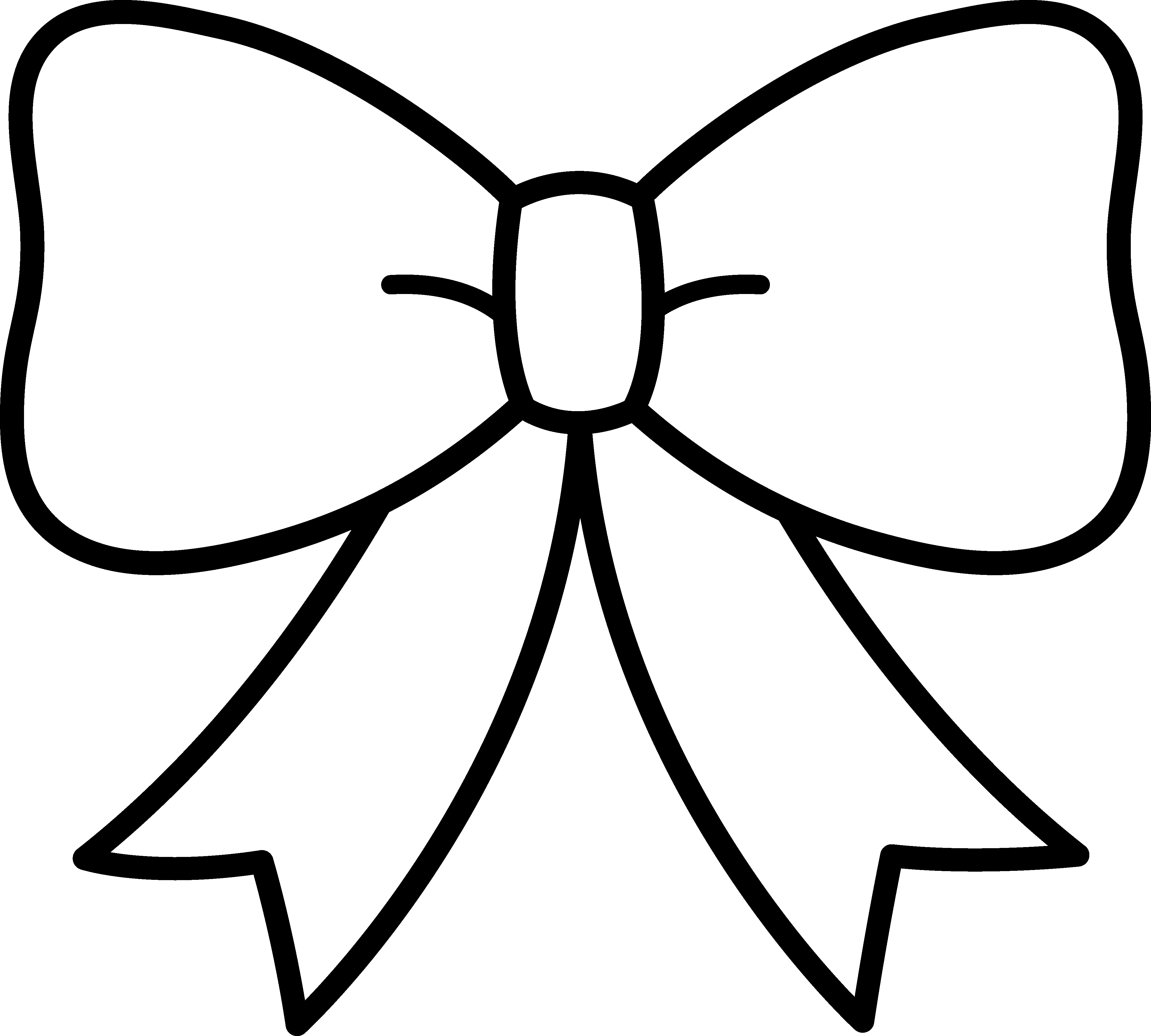 4216x3795 Unique Cheer Bow Clipart Collection