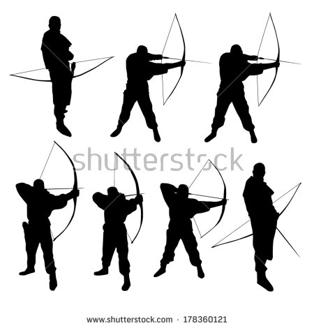 450x470 Pix For Gt Bow Silhouette Clipart Images] With More Ideas