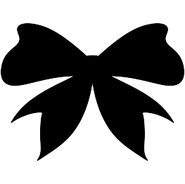 263x262 Bow Tie Clipart Silhouette