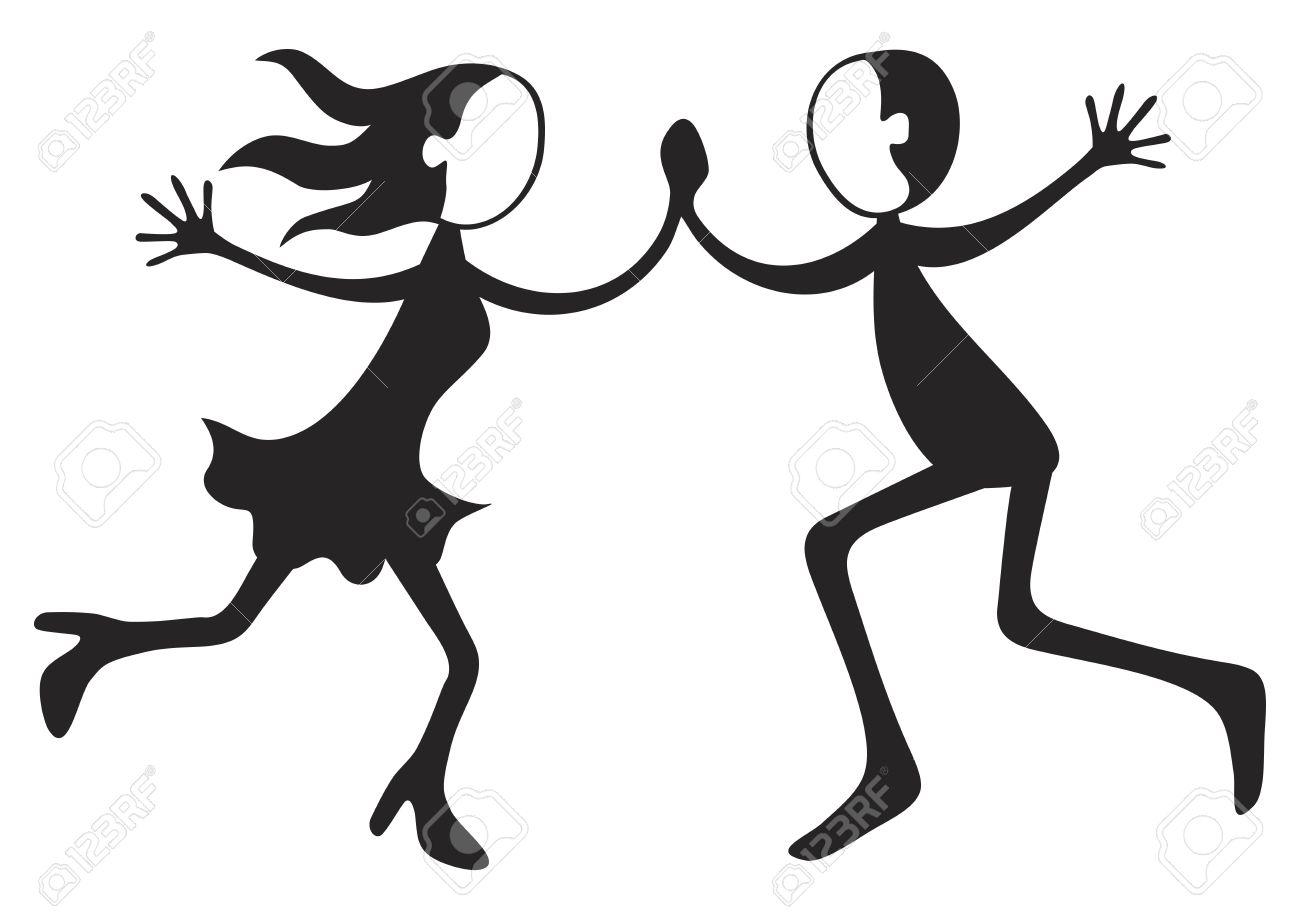 1300x919 Dance Silhouette Boy Clipart