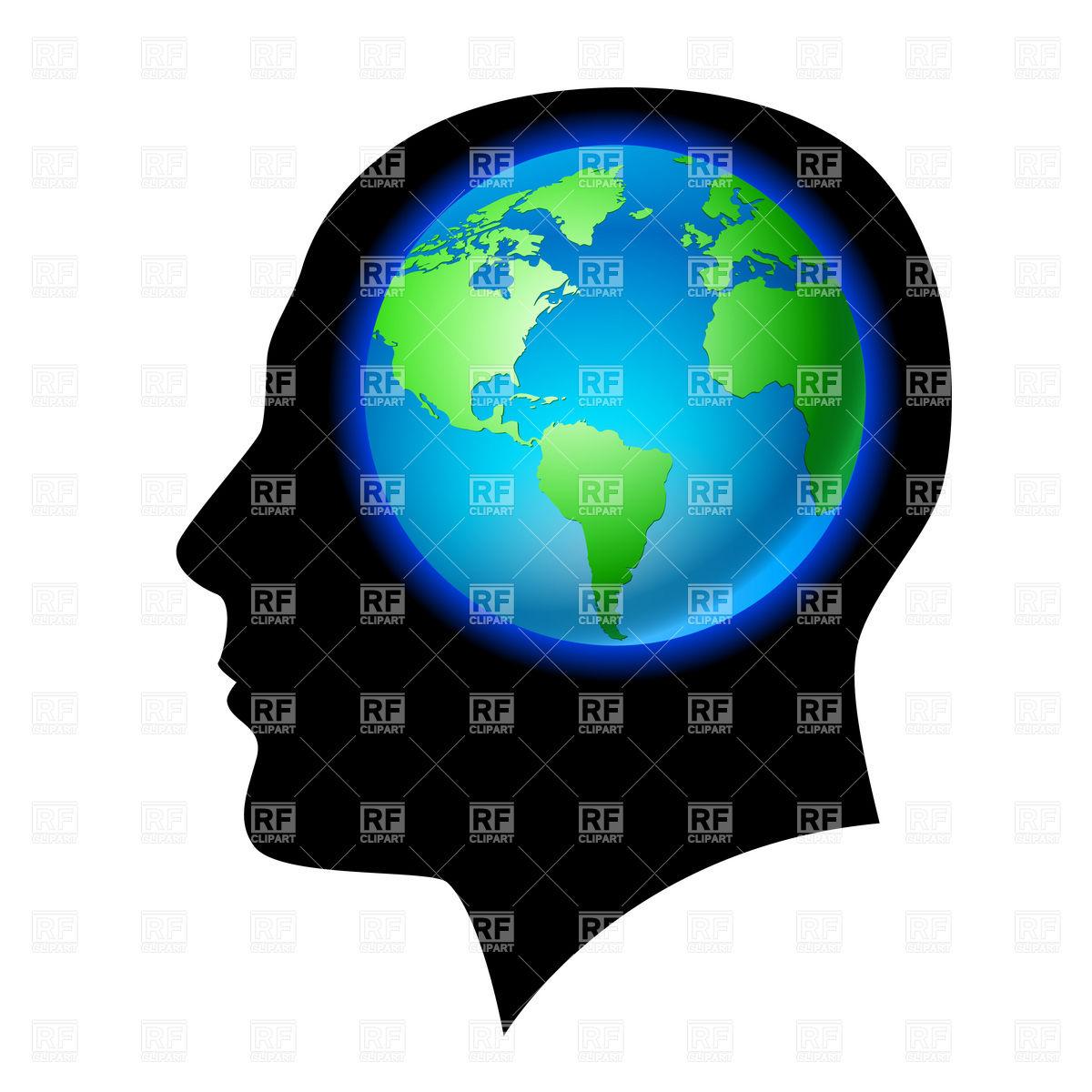 1200x1200 Brains Clipart Silhouette