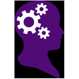300x300 Purple Clipart Brain