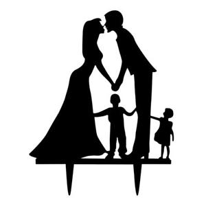 300x300 Wedding Engagement Bride Amp Groom With Kids Family Member