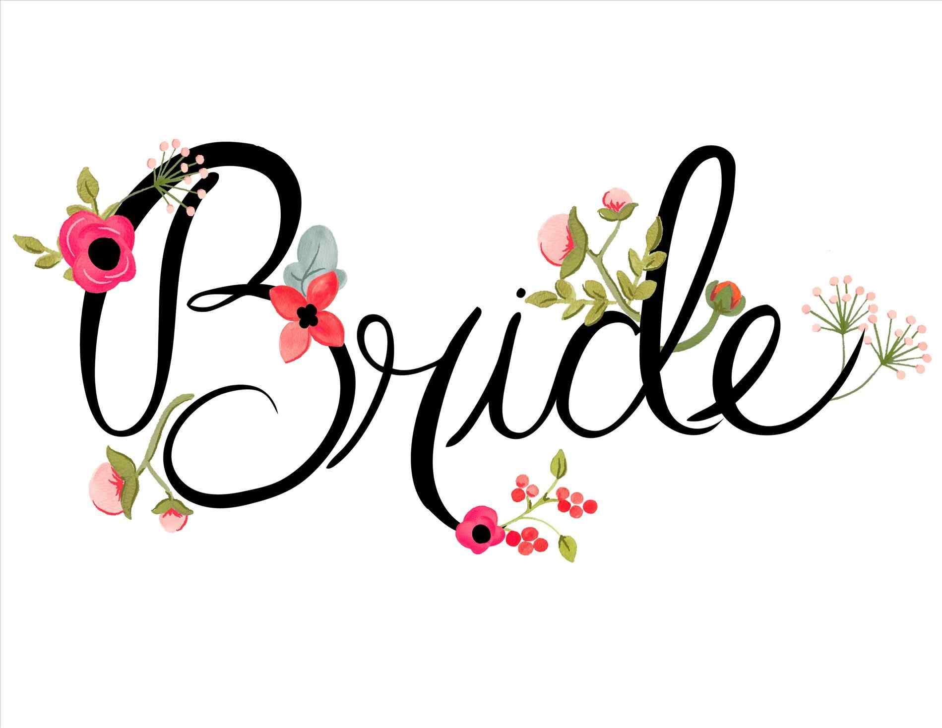 Silhouette Bridesmaid