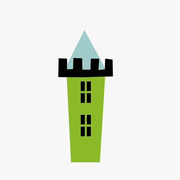 624x625 Building Construction Silhouette, Cartoon Pictures, Building