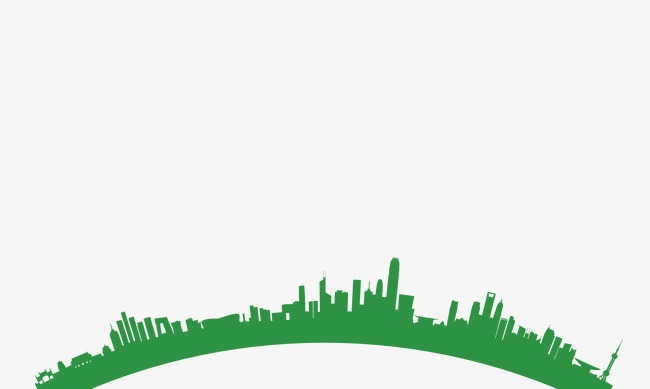 650x389 Building Silhouette, Building, Sketch, Green Png And Psd File