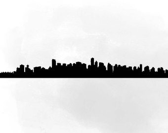 340x270 Building Silhouette Etsy