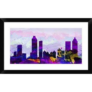 310x310 Atlanta Skyline Wall Art Wayfair