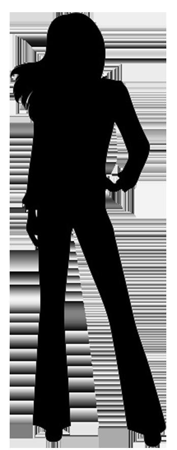 348x886 Female Silhouette