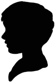 190x285 Silhouette Bust By Choice Images Spreadshirt