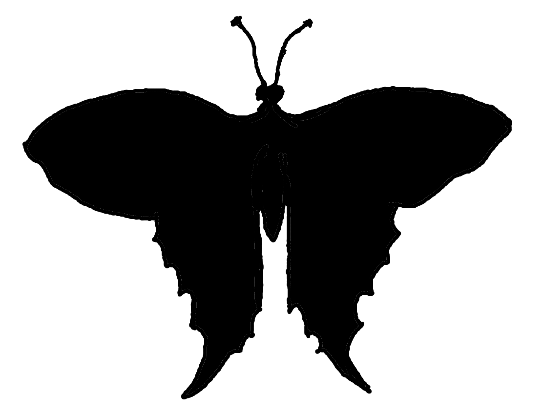 1112x853 Butterfly Silhouette Stock Right Brained Mama