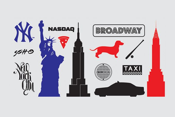 680x455 New York Icons Amp Silhouette Vectors (Free) Free Vector Archive
