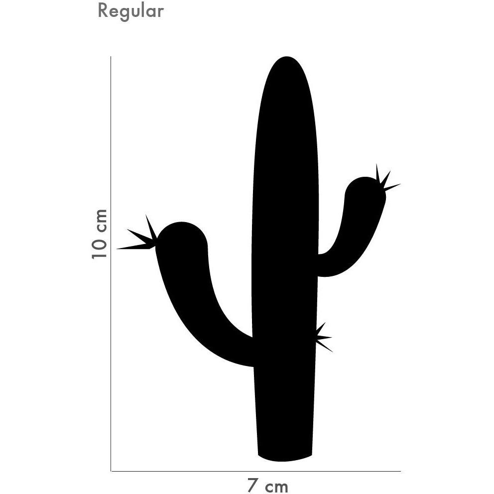 992x992 Cactus Silhouette Wall Sticker Petite Penguin