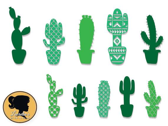 570x428 Patterned Cactus Silhouette, Cactus Silhouette Background Cactus