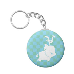 307x307 Silhouette Keychains Zazzle