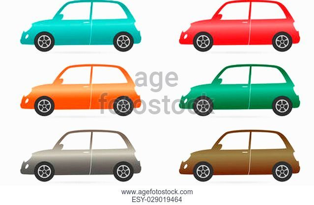 639x418 Vintage Car In Silhouette, Stock Vector, Vector And Low Budget