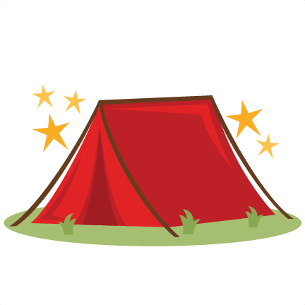 432x432 Camping Tent Svg Scrapbook Cut File Cute Clipart Files