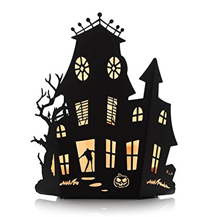 425x425 Yankee Candle Halloween Silhouettes Haunted House