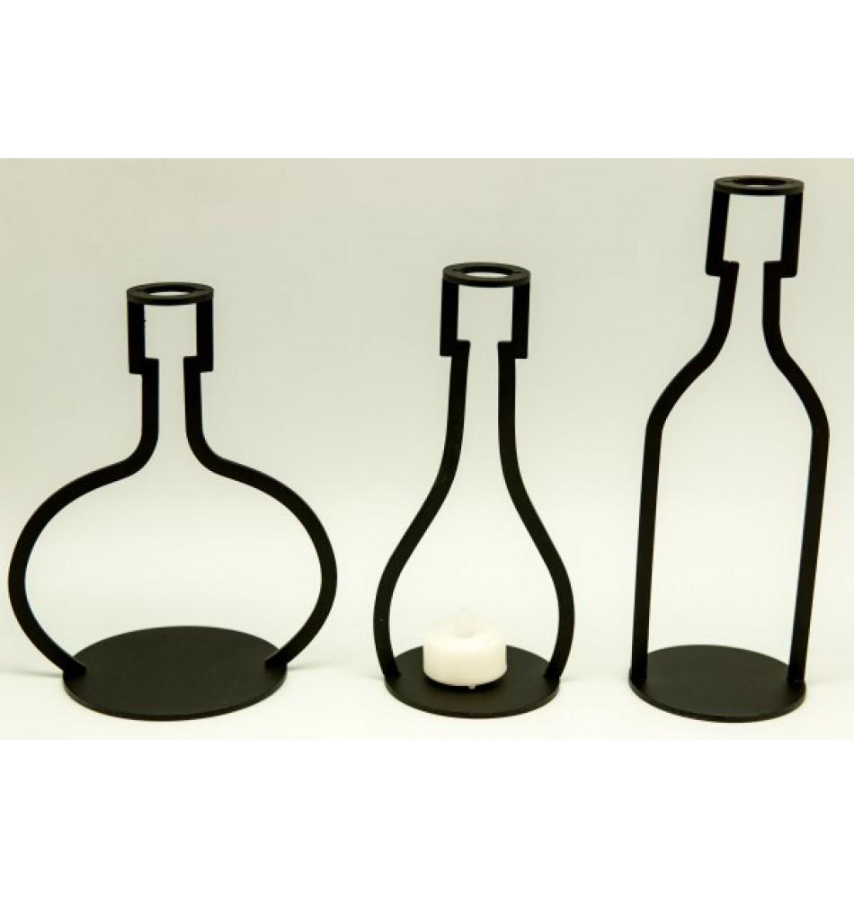 950x1000 Candle Holder Bottle Shape, Set3