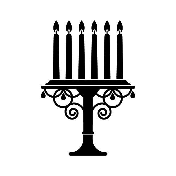 570x570 Candles Svg Candle Holder Svg Candle Vector File Candelabra