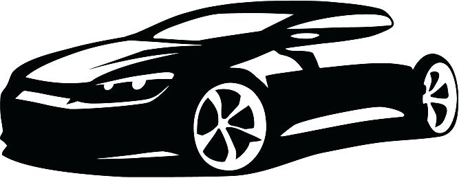 667x259 Sports For Silhouette Sport Car Clipart