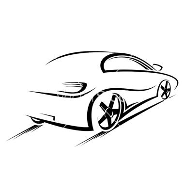 Silhouette Car Vector