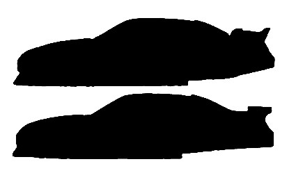 425x272 Nascar Car Of Tomorrow Dodge Avenger Vs Toyota Camry