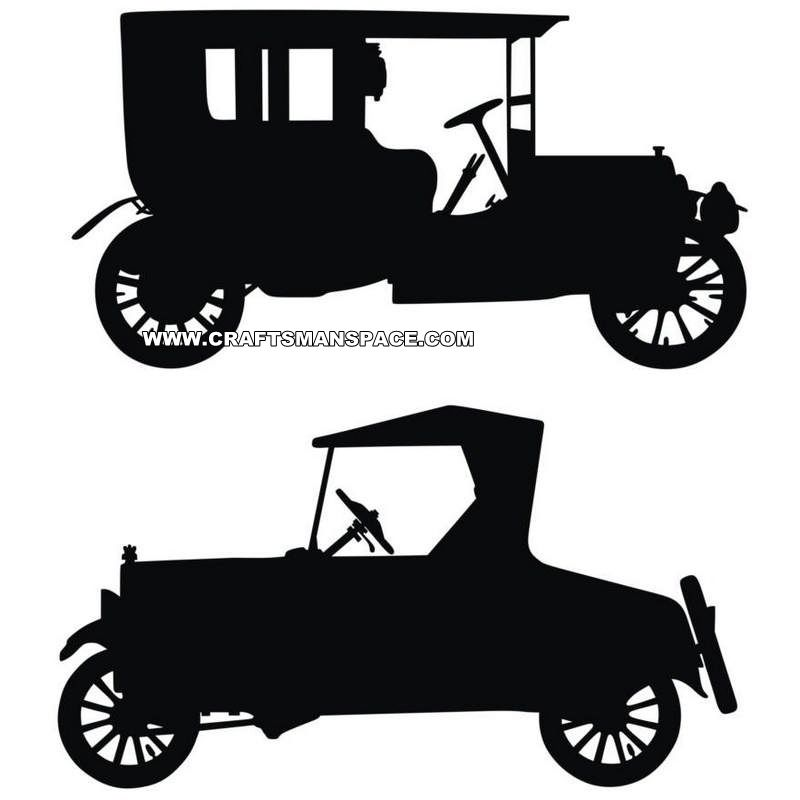 800x800 Old Car Silhouettes Silhouette Fonts Car