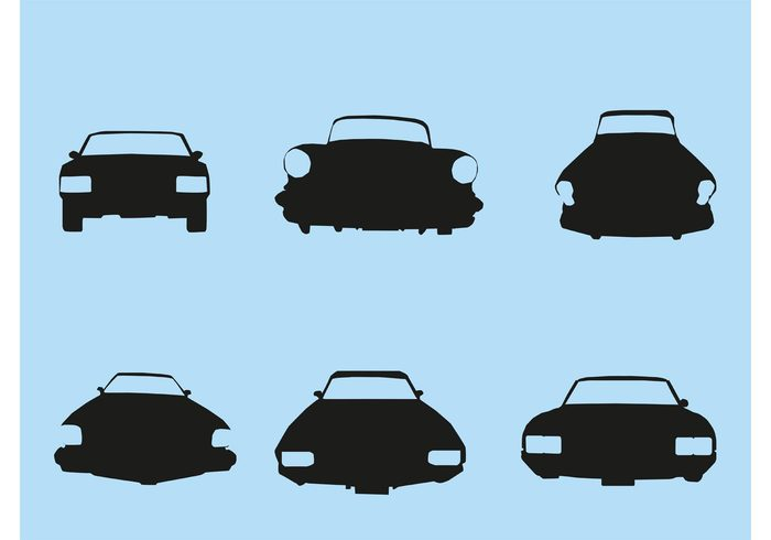 700x490 Car Front Silhouette View Concept Illustrations Earlyjob.site