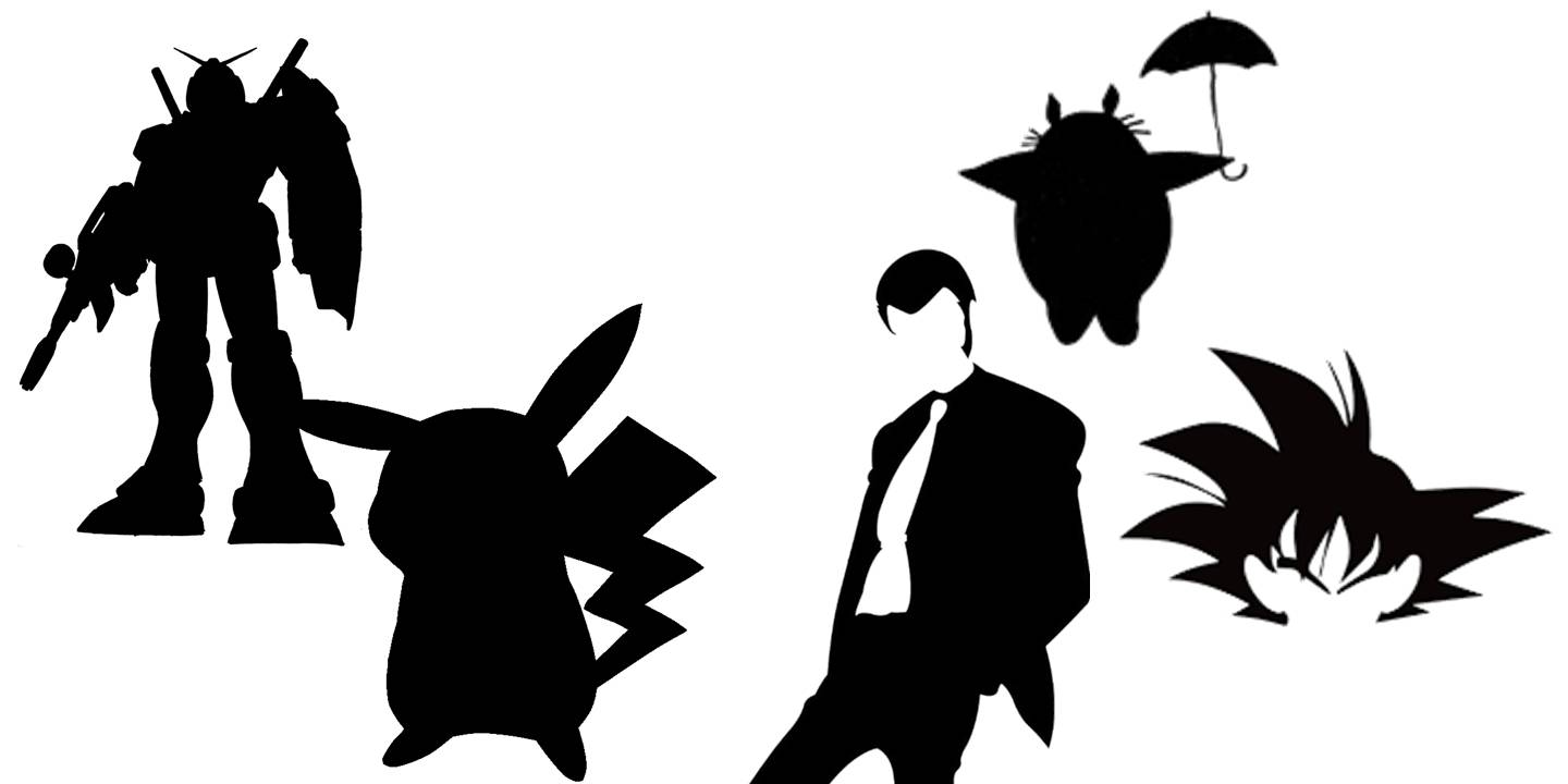Silhouette Cartoon Characters
