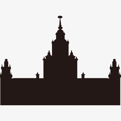 400x400 European And American Architectural Silhouettes, Castle, European