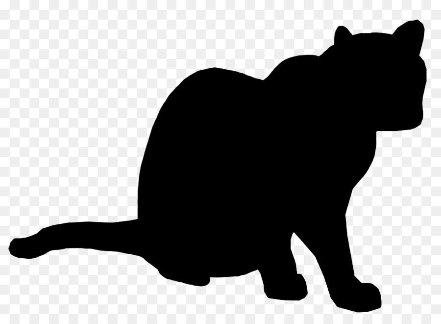 900x660 Silhouette Cat Clip Art