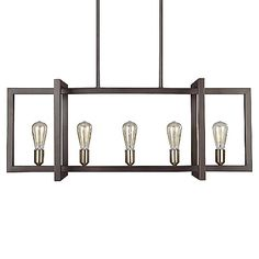 236x236 Cosmos Linear Chandelier Linear Chandelier, Cosmos And Chandeliers