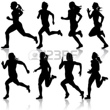 450x450 Image Result For Female Runners Silhouette