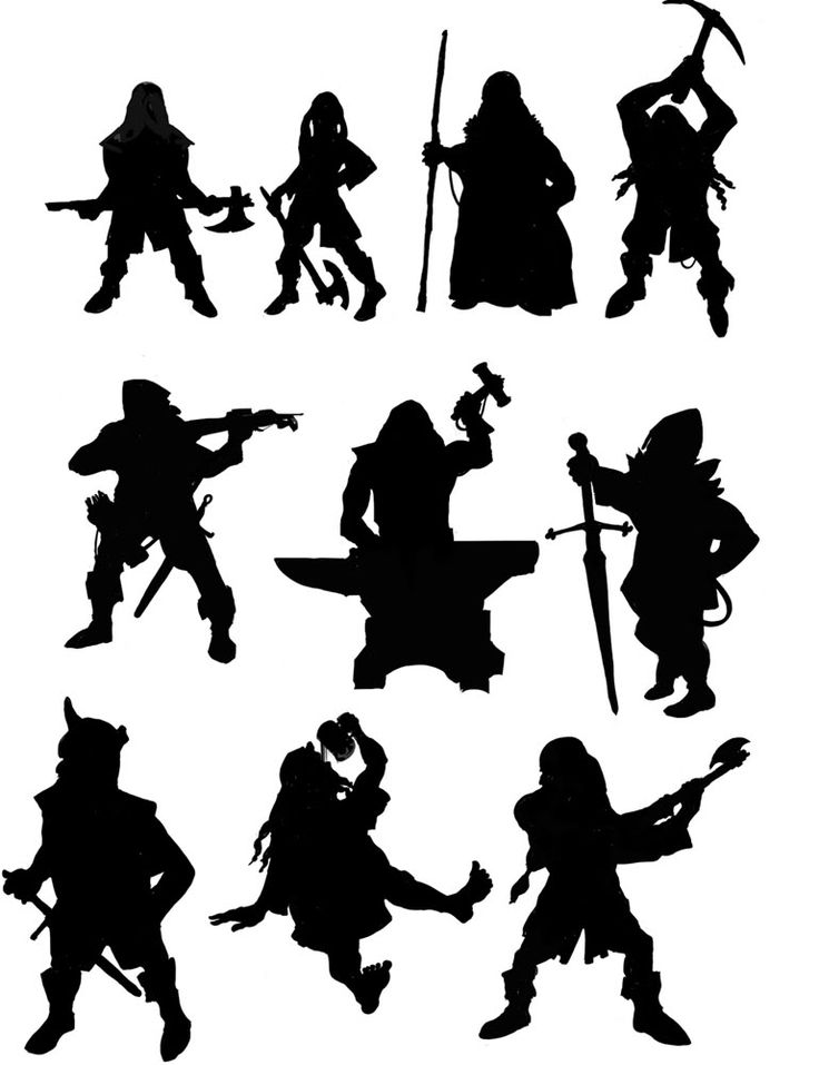 736x957 126 Best Character Design Silhouette Images