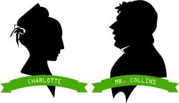 352x204 Pride And Prejudice Characters Charlotte And Mr. Collins
