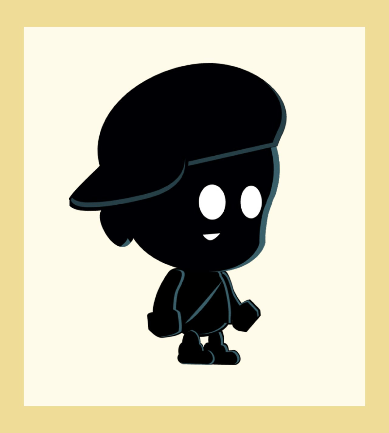 1280x1424 Buy Silhouette Boy 2d Game Character Sprites For Ui Graphic