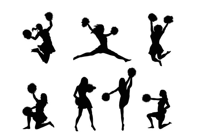 700x490 Cheerleader Free Vector Art