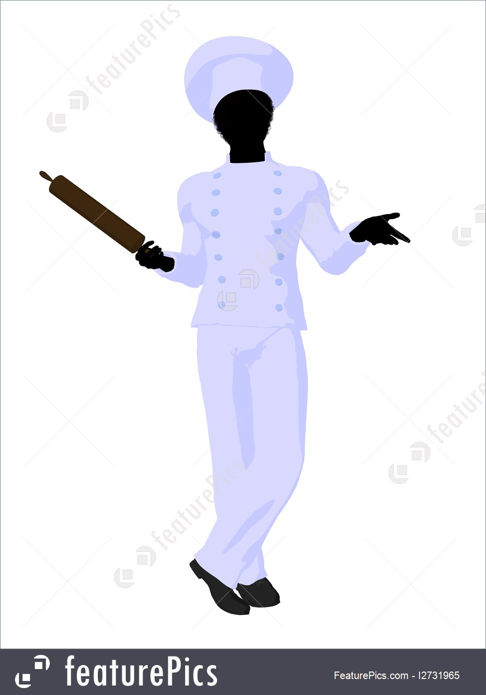 974x1392 People At Work Chef Silhouette