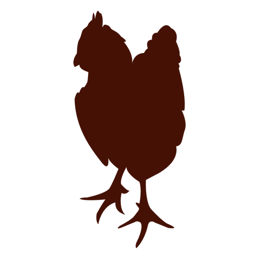512x512 Pet Chicken Silhouette
